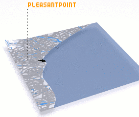 3d view of Pleasant Point
