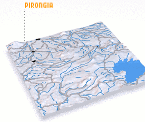 3d view of Pirongia