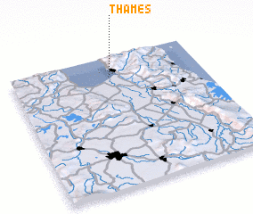 3d view of Thames
