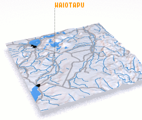 3d view of Waiotapu