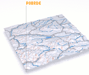 3d view of Pobrđe