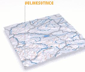 3d view of Velike Sotnice