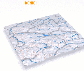 3d view of Demići