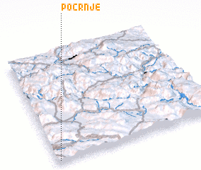 3d view of Pocrnje
