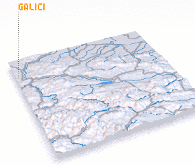3d view of Galići