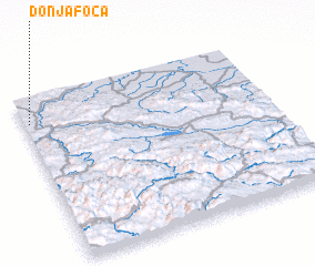 3d view of Donja Foča