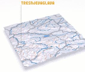 3d view of Trešnjeva Glava