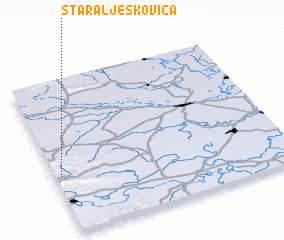 3d view of Stara Ljeskovica