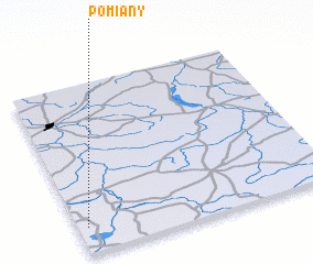 3d view of Pomiany
