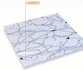 3d view of Lovrići