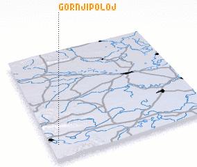3d view of Gornji Poloj