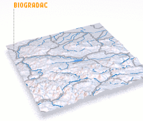 3d view of Biogradac