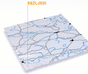 3d view of Ražljevi