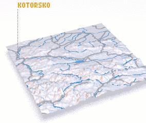 3d view of Kotorsko