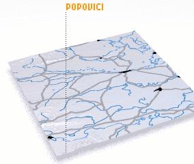 3d view of Popovići