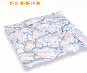 3d view of Paškina Kafana