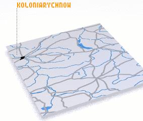 3d view of Kolonia Rychnów