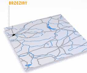 3d view of Brzeziny