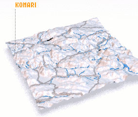 3d view of Komari
