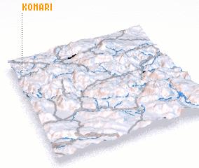 3d view of Komari