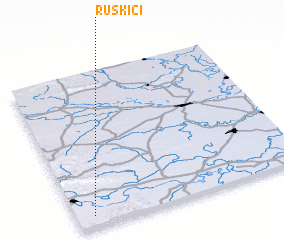 3d view of Ruškići