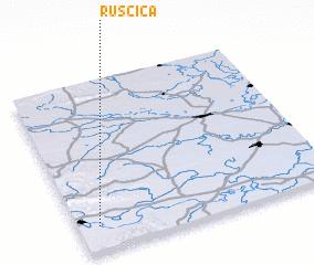 3d view of Ruščica
