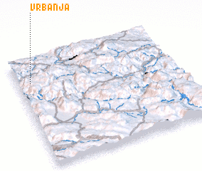 3d view of Vrbanja
