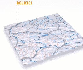 3d view of Deličići
