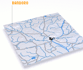 3d view of Bandoro