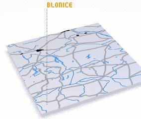 3d view of Błonice