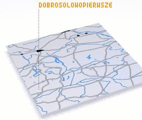 3d view of Dobrosołowo Pierwsze
