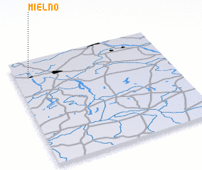 3d view of Mielno