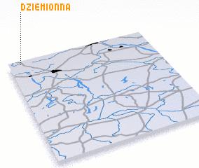 3d view of Dziemionna
