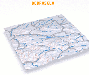 3d view of Dobro Selo