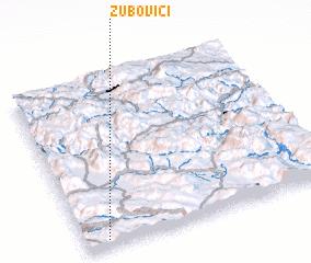3d view of Zubovići
