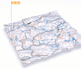 3d view of Pirin
