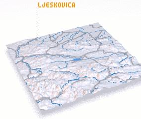 3d view of Ljeskovica
