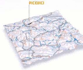 3d view of Pičevići