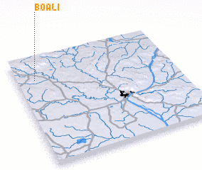 3d view of Boali