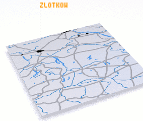 3d view of Złotków