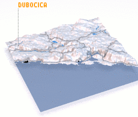 3d view of Dubočica