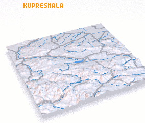 3d view of Kupres Mala