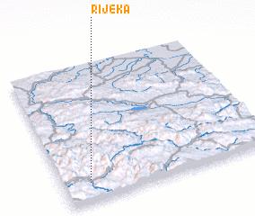 3d view of Rijeka
