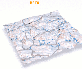 3d view of Meča