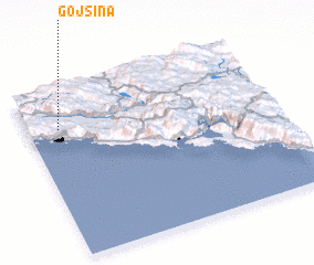3d view of Gojšina