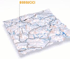 3d view of Borovčići
