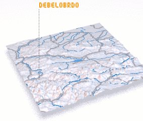 3d view of Debelo Brdo