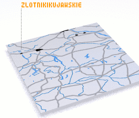 3d view of Złotniki Kujawskie