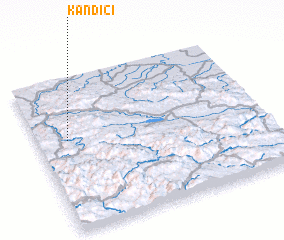 3d view of Kandići