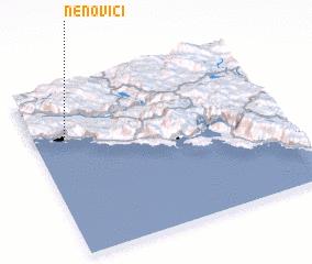 3d view of Nenovići